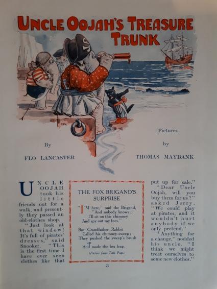 Treasure Trunk Oojah 1927