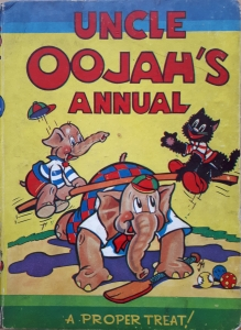 Uncle Oojah's Annual 1942 featuring Uncle Oojah's War-Time Wangles