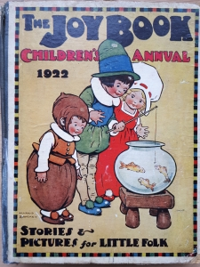 The Joy Book Children's Annual 1922 featuring Flip-Flap, The Great Oojah, in London Town