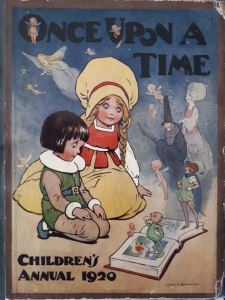 Once Upon a Time Children's Annual 1920 including 'Flip-Flap The Great Oojah' and 'The Pigmy Pirates'