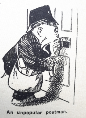 Uncle Oojahs Big Annual 1931 Jerry Earns a Living Postman