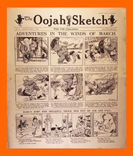 Oojah Sketch 1920s
