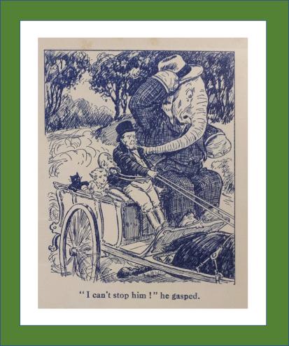 Farmer Honeybee Runaway Cart The Oojah Annual 1926