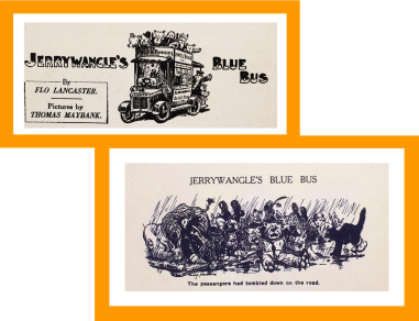 Jerrywangle's Blue Bus Uncle Oojah's Big Annual 1930