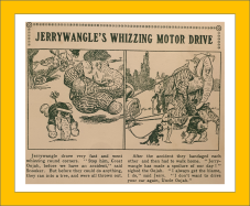 Jerrywangle's Whizzing Motor Drive The Oojah Annual 1923