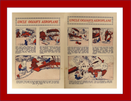 Uncle Oojah's Aeroplane The Oojah Annual 1925